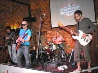 The Bushy Tail performing live