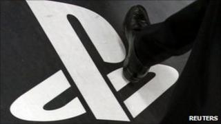 PlayStation logo, Reuters