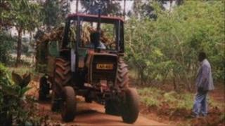 A tractor on a Tanzanian farm (Archive photo)