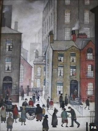 LS Lowry's The Hawker's Cart