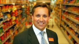 Justin King, chief executive of Sainsbury's