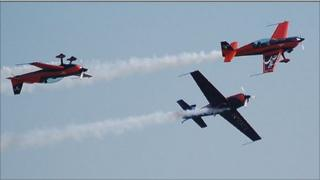 The Blades aerobatic display