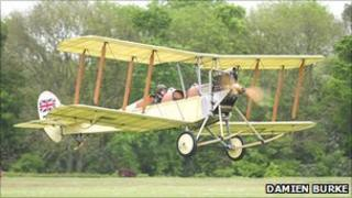 The Biggles Biplane BE-2c