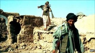 Taliban members (file photo)
