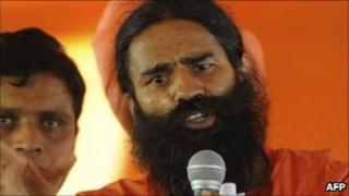 Baba Ramdev in Delhi - 3 June 2011