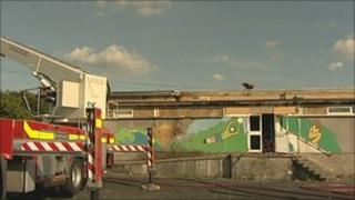 Southway Primary School fire