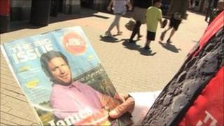 Man selling the Big Issue