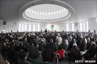 Muslims Gather To Condemn Extremism In The UK At Baitul Futuh Mosque