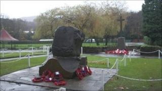 War memorials in Pontypridd