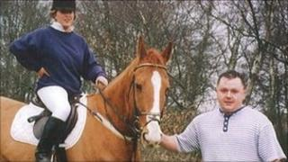 Johanna Collings with Levi Bellfield at Yateley