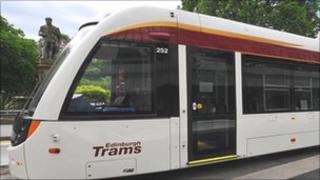 Edinburgh tram