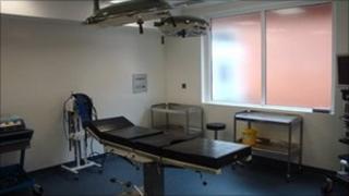 Bridgnorth operating theatre
