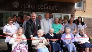 Opening of Florence Court