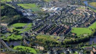 Raploch estate in Stirling