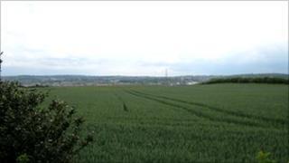 Greenbelt land in Greasbrough, Rotherham
