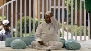 Anna Hazare on his day-long fast in Delhi