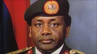 The late General Sani Abacha, ex-dictator of Nigeria