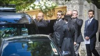 Rob Daley funeral