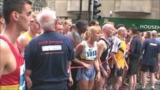 Start of 2010 Blaydon Race