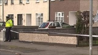 Mr Kenny was shot in Shancastle Avenue (picture from RTE)