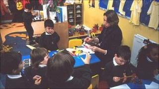 Gaelic centre at Tollcross Primary