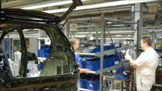 VW car production