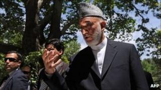 Afghan President Hamid Karzai. Photo: May 2011