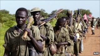 South Sudan army (file photo)