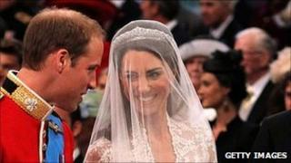 Prince William and Katherine Middleton getting married at Westminster Abbey