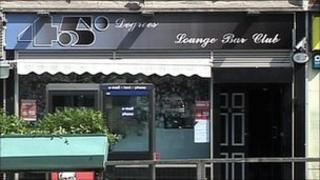 45 Degrees nightclub