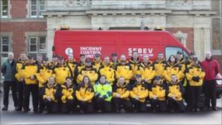 SEBEV team of volunteers