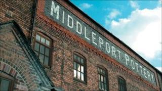 Middleport Pottery building
