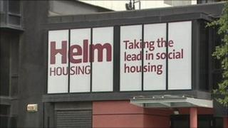 Helm sign