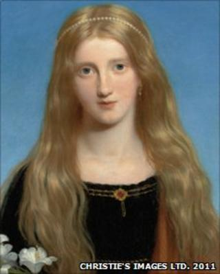 Portrait of Miss Bury