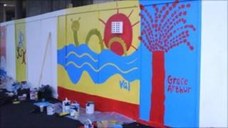 Artwork for the Never Ending Mural in Ipswich