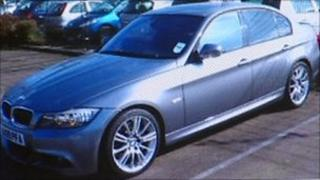 Car was confiscated from a criminal by Leicestershire Police