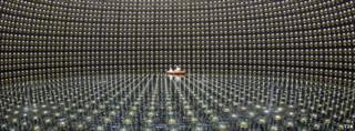 Neutrino particle 'flips to all flavours'