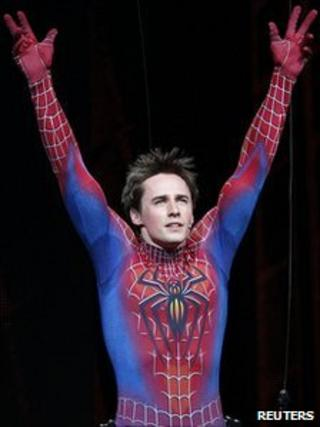 Reeve Carney in Spider-Man: Turn off the Dark