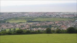 Y Morfa is surrounded by homes in Prestatyn