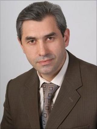 Maksud Sadikov (image from college website)