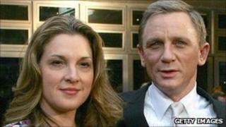 Barbara Broccoli with Daniel Craig in 2008