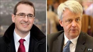 Owen Smith and Andrew Lansley