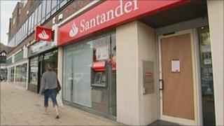 Oxted Santander