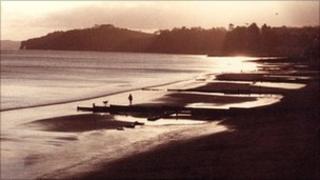 Dawlish town beach