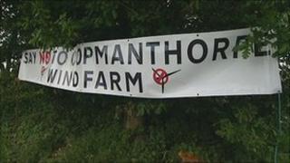 Sign at Copmanthorpe near York