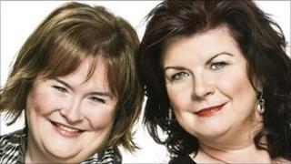 Susan Boyle and Elaine C Smith