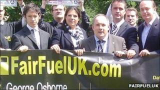 Conservative Harlow MP, Robert Halfon and FairFuelUK