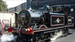 Steam train Pic: Bodmin and Wenford Railway