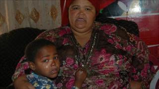 Christine Booysen a resident in the Cape Flats