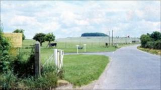 Porton Down, view of area near research establishment